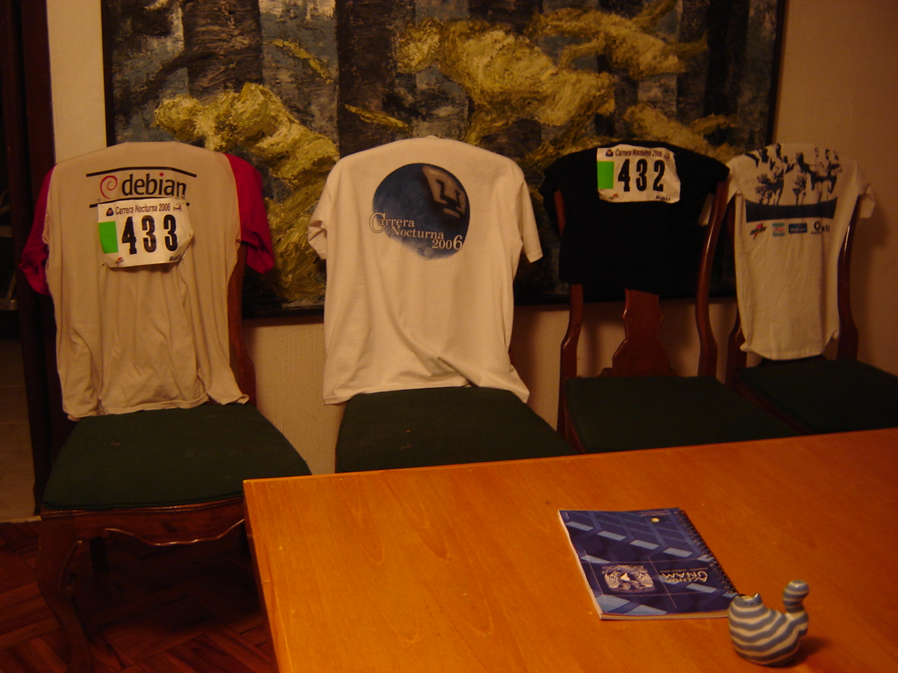 After the 2006 UNAM nocturnal race