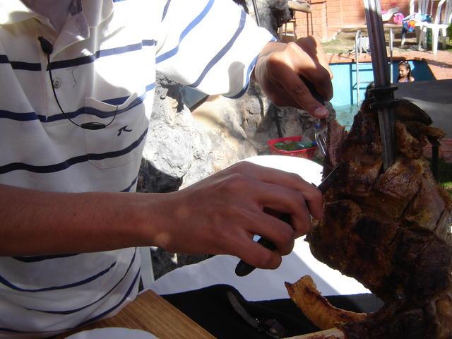 Huge Bolivian-sized lunch at Uma Jalantha