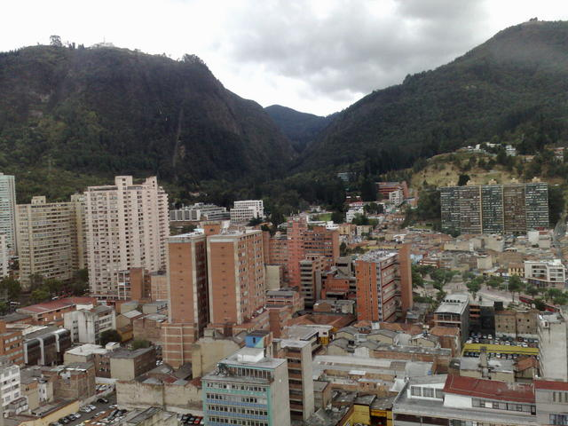 Bogotá from the Avianca tower