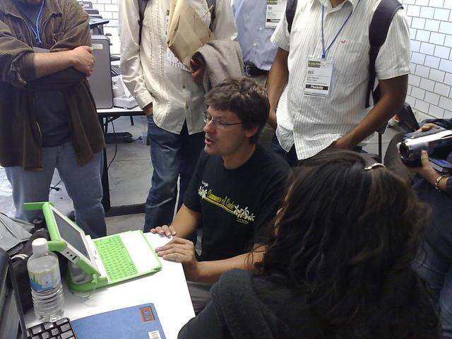 Martin dazzles $world with the OLPC XO