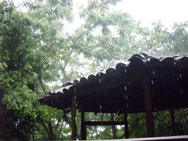 Rain! National Geographic says it rains in Nicaragua!