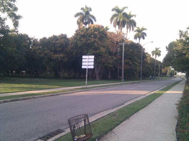 Walking around the Universidad de las Ciencias Informáticas campus