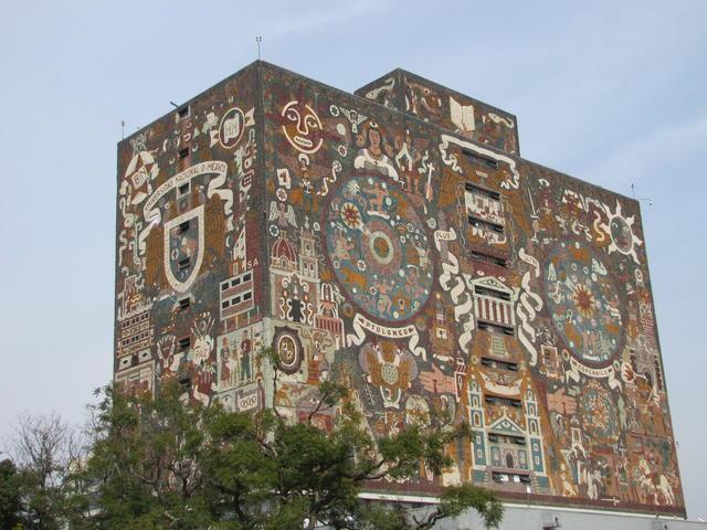 Central Library, Universidad Nacional Autónoma de México