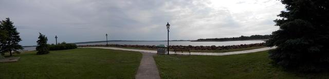 View towards Victoria Park