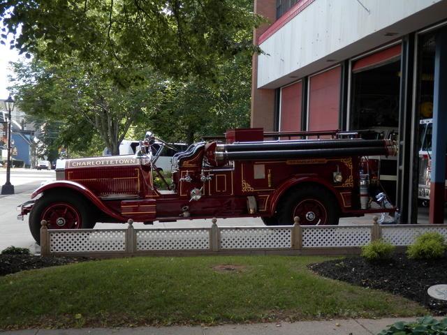 Historic fire car