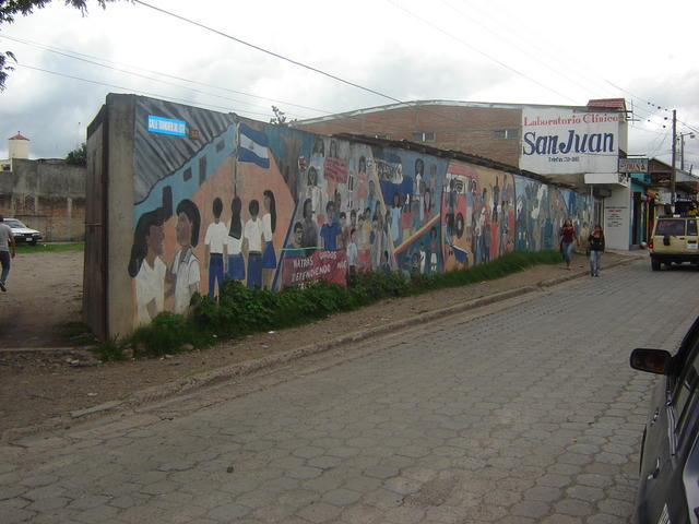 Murals in the Estelí streets